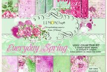 "Everyday Spring Inspiration / Inspiration of our Design Team using ""Everyday Spring"" collection."