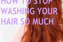 HAIR / Hair cuts, hair styles, and a million different shades of rainbow hair.