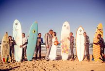 MENTORS WEDDING: BIANCA & ANVER / When you think Jeffreysbay you think sun and sea_ and Surfers- this bridal party incorporated a bit of seaside fun into their special day at Mentors Country Estate