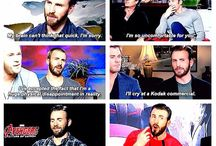 Chris Evans is life