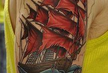 Tatuagens de navio