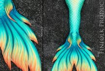 All about mermaid / Mermaid tails, bra, tops, accessories, and more