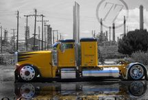 Big rigs / by Bryce Steez