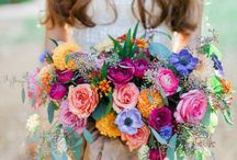 Boho wedding bouqet