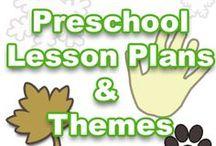 Pre school lesson plans