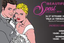 Beautiful Sposi 2015 / Beautiful Sposi è la più grande fiera di settore della Costa Tirrenica.