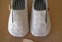 Naaldwerk skoene