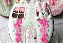 Húsvéti nyuszi süti