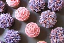 Kari Boyd baby shower cupcakes
