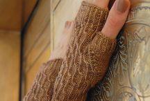 Knitting for hands & feet