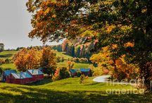 Fine Art Vermont scenes