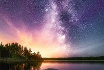Sunset galaxy
