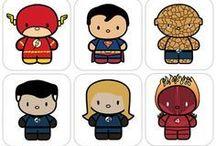 superhéroes animados
