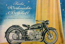 Motorrad-Kunst