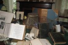 Bookworm! Exhibit at Linden Place, September, 2012