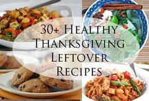 Thanksgiving Leftover Recipes / What to do with all of those Turkey Day leftovers?! Here are some recipes that sound delicious!