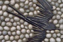 Pebble art/mosaics