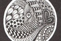 Art & doodles | illustrations | zentangles / by Lin Na | 娜