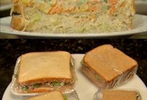 sanduíches gourmet