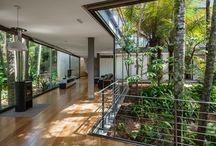 interior/pátio / arquitetura, design, rustico, moderno, tec, tecnológico,