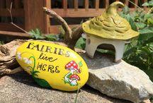 Moms fairy garden
