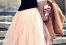 Tulle Skirt / So pretty and ethereal