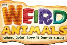 Weird Animals Crafts (2014) / Weird Animals Bible Crafts