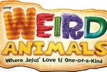 Weird Animals Crafts (2014) / Weird Animals Bible Crafts