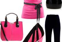 Blúzky, tričká, pulóvre ružové a fialové