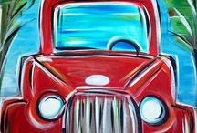 kids car painting