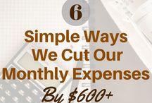 Money Saving Tips / Tips on Money Saving, Savings, Frugal Living