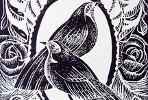 Linoleum , Matryce , Wzorce