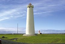 Lighthouses / Because of dangerous sailing conditions around the Reykjanes peninsula and the rich fishing traditions, thirteen lighthouses have been built around the peninsula