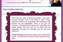 Radiance Holiday Hottie / Radiance Holiday Hottie - Recipes, Tips, Workouts and More! How to stay fit and look fabulous through the holiday season!
