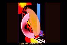 CINE DE LITERATURA.  http://www.cine-de-literatura.com/ / Presentamos sugerencias interactivas entre Literatura y Cine, y desde el cine que procede de la literatura, para observar los intertextos que ofrecen y tratar temas que importen. Para aprender a ver cine y mejorar la lectura y, con ello, acceder a conocimientos culturales, dentro de unidades didácticas. Os animo a participar, a compartir, porque enfrentarse a una secuencia de cine no es tarea fácil y son necesarias muchas miradas para llegar a alguna conclusión.