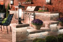 Outdoor Lighting / It's that time of year again! Winter is slowly coming to an end and everyone is anxious to get out and relax on their outdoor patios. Here are some ideas to spruce up you outdoor living space for those long summer nights.