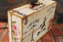 maletas madera