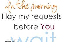 Mornings in Gods Presence