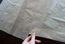 Sewing / Making folds