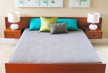 Mid centry bedroom