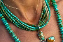turquoise / jewelry turquoise hand made