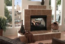 fireplace designs / by Lenore Caffey