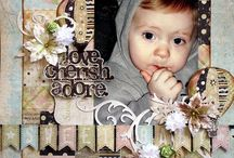 Be inspired,scrapbook pages / Scrapbooking / by Hammi Khoury