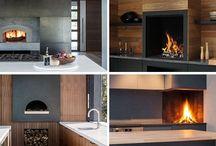 Küche Design Idee – Enthalten Einen Eingebauten Holzofen In Der Küche