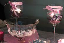 Le Confettate / Il tavolo della confettata, deorato ed allestito in abse all'evento, dove i vostri ospiti delizieranno il loro palato con tantissimi confetti colarati e tutti di gusti differenti.