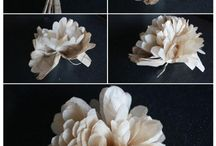 Paper Plants / For someone whose green thumb is not very green, these flowers are perfect.