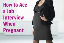 pregnant job interview outfit
