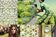 Color Palette & Textures
