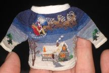 Miniature knitting & dolls houses