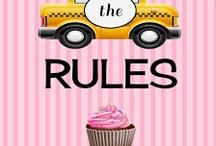 Breaking the Rules / My debut novel! :)